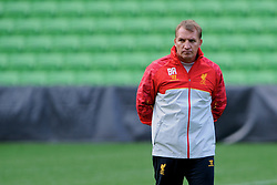 MELBOURNE, AUSTRALIA - Monday, July 22, 2013: Liverpool's manager Brendan Rodgers during a training session at Aami Park ahead of their preseason friendly against Melbourne Victory. (Pic by David Rawcliffe/Propaganda)