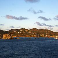 France, St. Barts, Gustavia. Saint Barthelemy in the Caribbean.