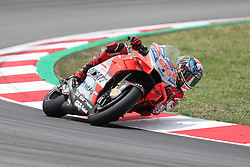 June 17, 2018 - Montmelo, Catalunya, Spain - Jorge LORENZO of Spain and Ducati Team competes during Gran Premi Monster Energy de Catalunya (Grand Prix of Catalunya), MotoGP race, on June 17, 2018 at the Catalunya racetrack in Montmelo, near Barcelona, Spain (Credit Image: © Manuel Blondeau via ZUMA Wire)