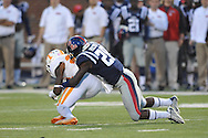Ole Miss Rebels defensive back Mike Hilton (28) vs. Tennessee at Vaught-Hemingway Stadium in Oxford, Miss. on Saturday, October 18, 2014.