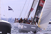 Team New Zealand, NZL60 and Lunna Rossa ITA45. America's Cup 2000