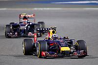 RICCIARDO Daniel (Aus) Red Bull Renault Rb10 Action during the 2014 Formula One World Championship, Grand Prix of Bahrain on April 6, 2014 in Sakhir, Bahrain. Photo François Flamand / DPPI