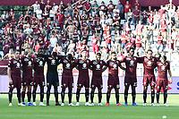 minuti di raccoglimento<br /> Torino 19-08-2018 Stadio Olimpico Grande Torino <br /> Football Calcio Serie A 2018/2019 Torino - Roma Foto Daniele Buffa / Image Sport / Insidefoto