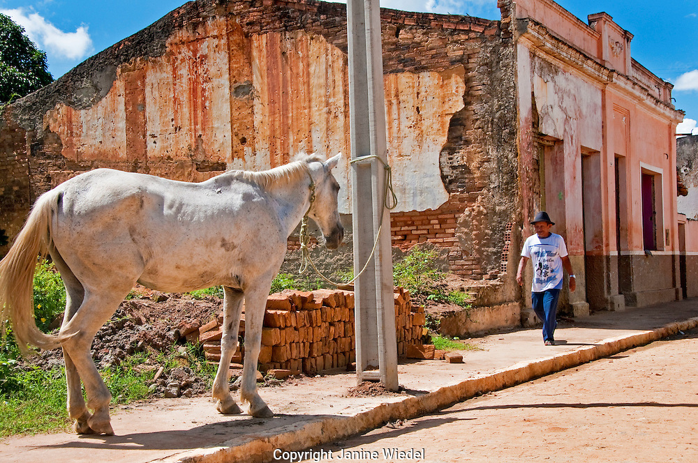 Village of Sao Benedito Do Sul in Pernambuco Northeastern Brazil