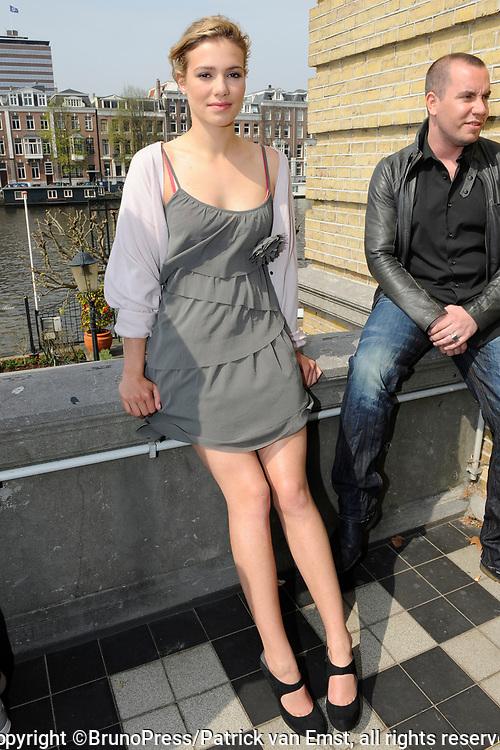 Perspresentatie van de  bioscoopfilm LOFT in  het Amstel Hotel in Amsterdam.<br /> <br /> op de foto:  Sallie Harmsen