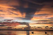 Kyak fishing on Tampa Bay, Florida.
