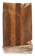 empty brown paper lunch bag