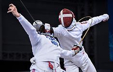 20150624 Baku 2015 European Games - Fægtning - kvartfinale Individuel Epee herrer + indledende kampe