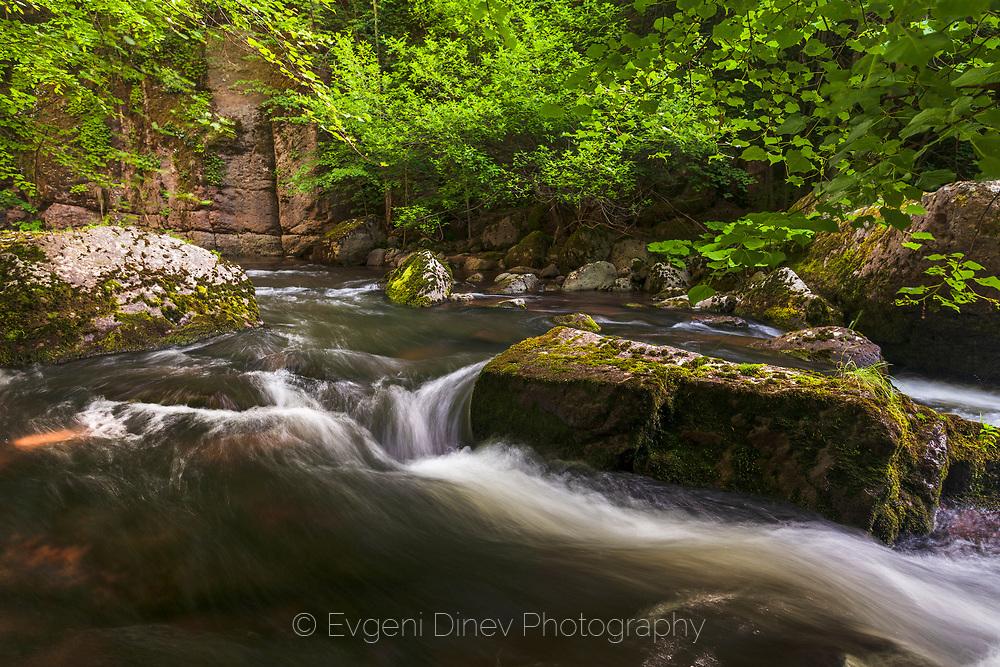 Devin river in the spring
