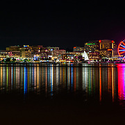 Oxon Hill, MD - August 8, 2017 - View of The National Harbor. (Photo by Richie Downs)