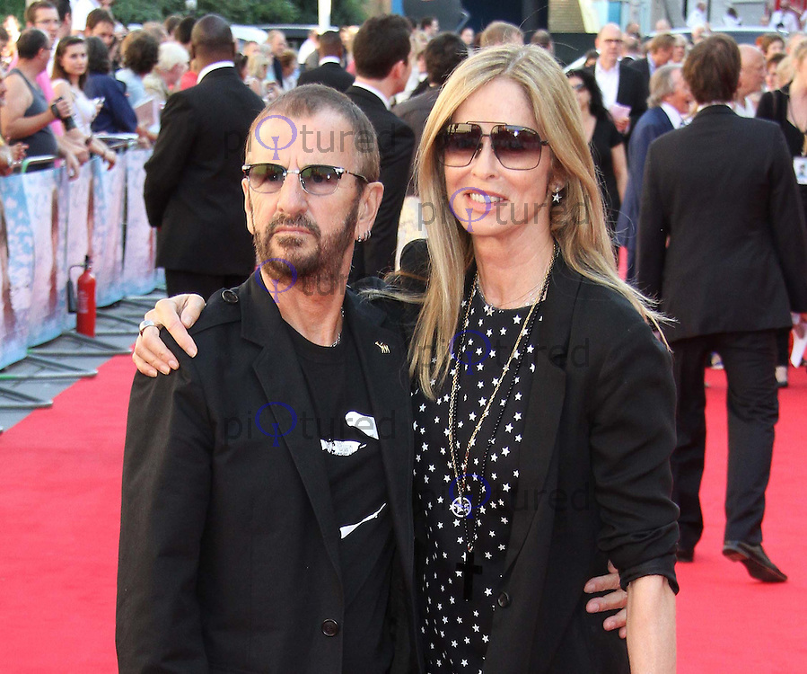 Ringo Starr; Barbara Bach George Harrison: Living in the Material World UK Premiere, BFI Southbank,London, UK. 02 October 2011 Contact: Rich@Piqtured.com +44(0)7941 079620 (Picture by Richard Goldschmidt)