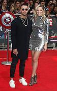 April 26, 2016 - Mason Noise and Larissa Eddie attending 'Captain America: Civil War' European Film Premiere at Vue Westfield in London, UK.<br /> ©Exclusivepix Media