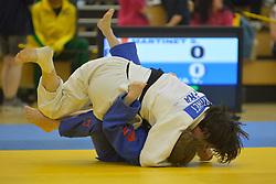 Sandrine Aurieres-Martinet, -52kg, FRA, Viktoria Potapova, RUS, 2016 Visually Impaired Judo Grandprix, British Judo, Birmingham, England
