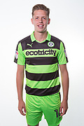 Forest Green Rovers Jack Fitzwater(16) during the Forest Green Rovers Photocall at the New Lawn, Forest Green, United Kingdom on 31 July 2017. Photo by Shane Healey.