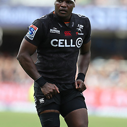 Chiliboy Ralepelle of the Cell C Sharks during the Super Rugby match between the Cell C Sharks and the Western Force at Growthpoint Kings Park on May 06, 2017 in Durban, South Africa. (Photo by Steve Haag)