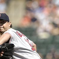09 September 2007:  Boston Red Sox pitcher Josh Beckett (19) in action against the Baltimore Orioles.   Beckett won his 18th game of the year, going seven innings and striking out 8 as the Red Sox defeated the Orioles 3-2 at Camden Yards in Baltimore, MD.  ****For Editorial Use Only****.