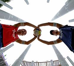27-07-2005: BEACHVOLLEYBAL: SWATCH WORLD TOUR: PARIJS<br /> <br /> Jochem de Gruijter en Gijs Ronnes<br /> <br /> ©2005-WWW.FOTOHOOGENDOORN.NL
