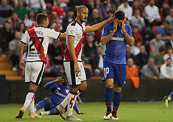 October 24, 2018 - Madrid, Madrid, SPAIN - Aduriz of Athletic de Bilbao in action during the spanish league, La Liga, football match between Rayo Vallecano and Athletic de Bilbao on October 24, 2018 at Estadio de Vallecas in Madrid, Spain. (Credit Image: © AFP7 via ZUMA Wire)