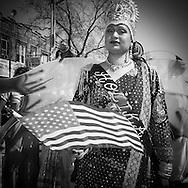 New York , the annual Holi Parade , Phagwah Parade, organized at the Richmond Hill, Queens,