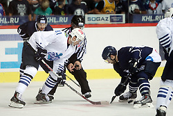 28.08.2015, Dom Sportova, Zagreb, CRO, KHL League, KHL Medvescak vs Admiral Vladivostok, 2. Runde, im Bild Dmitry Sayustov. // during the Kontinental Hockey League, 2nd round match between KHL Medvescak and Admiral Vladivostok at the Dom Sportova in Zagreb, Croatia on 2015/08/28. EXPA Pictures © 2015, PhotoCredit: EXPA/ Pixsell/ Goran Jakus<br /> <br /> *****ATTENTION - for AUT, SLO, SUI, SWE, ITA, FRA only*****