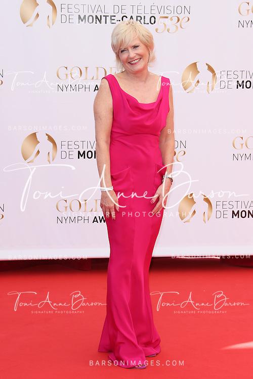 MONTE-CARLO, MONACO - JUNE 13:  Catherine Ceylac attends the closing ceremony of the 53rd Monte Carlo TV Festival on June 13, 2013 in Monte-Carlo, Monaco.  (Photo by Tony Barson/FilmMagic)