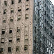 silver facade