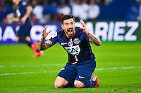 Ezequiel LAVEZZI / penaltie refuse  - 08.04.2015 - Paris Saint Germain / Saint Etienne - 1/2Finale Coupe de France<br />Photo : WinterPress / Icon Sport