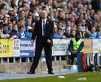 Photo: Leigh Quinnell.<br /> Reading v Portsmouth. The Barclays Premiership. 17/03/2007. Reading boss Steve Coppell looks on.