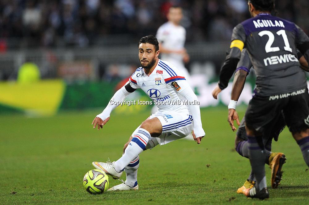 Nabil FEKIR - 11.01.2015 - Lyon / Toulouse - 20eme journee de Ligue 1<br /> Photo : Jean Paul Thomas / Icon Sport