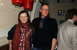 GILES DEACON and KATIE GRAND at the Grand Classics screening of Manhattan hosted by Giles Deacon at the Electric Cinema, Portobello Road, London W11 on 13th November 2006.<br />