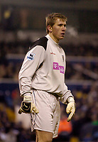 Photo: Glyn Thomas.<br />West Bromwich Albion v Tottenham Hotspur. The Barclays Premiership. 28/12/2005.<br />West Brom's keeper Tomasz Kuszczak.