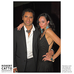 Actors Cliff Curtis and Shavaughn Ruakere celebrate at the premiere of the film River Queen in Wanganui, New Zealand.
