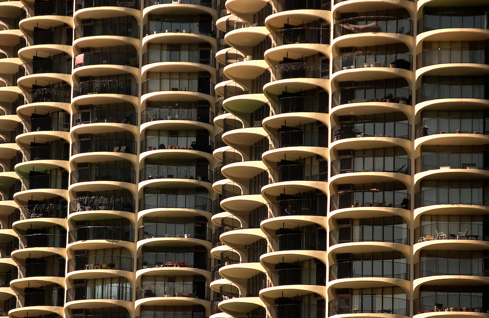 Balconies of Marina Towers, Chicago, IL