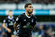 Fulham (2) Ryan Fredericks during the EFL Sky Bet Championship match between Queens Park Rangers and Fulham at the Loftus Road Stadium, London, England on 29 September 2017. Photo by Sebastian Frej.