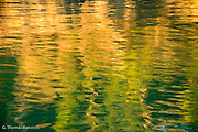 The air was crisp and cool in the early morning.  First light reflected the colors in an interesting pattern.