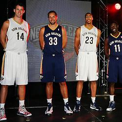 08-01-2013 New Orleans Pelicans Uniform Reveal