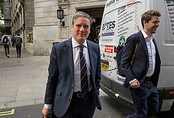 © Licensed to London News Pictures. 21/05/2019. London, UK. Shadow Brexit Secretary KIER STARMER is seen in Westminster, London. On Thursday UK citizens will controversially go to the polls in European elections, three years after a majority voted to leave the EU. Photo credit: Ben Cawthra/LNP