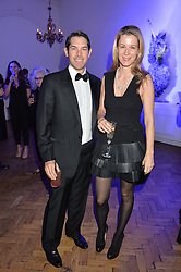ALEXANDER & IKA GREEN at the Sugarplum Dinner in aid Sugarplum Children a charity supporting children with type 1 diabetes and raising funds for JDRF, the world's leading type 1 diabetes research charity held at One Marylebone, London on 18th November 2015.