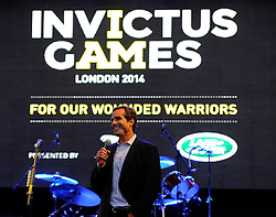 Bob Woodruff director of the Bob Woodruff foundation speaks at the Winfield Reception - Photo mandatory by-line: Joe Meredith/JMP - Mobile: 07966 386802 - 9/09/14 - Winfield reception for the Invictus Games - London - Winfield House