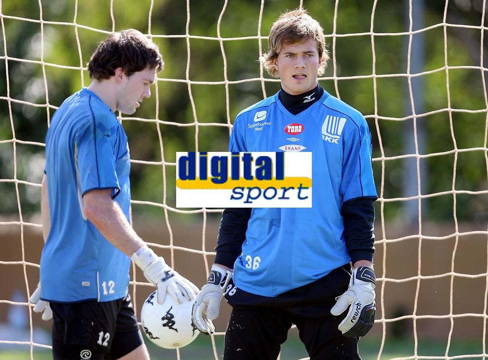 Fotball , 14. januar 2007 , Kenneth  Udjus og Håkon Opdal , Brann