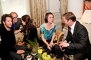 TOM HOLLANDER; BILL NIGHY; FRAN HICKMAN; JANE WILD;  RUPERT PENRY-JONES. Langham Hotel party after a major renovation. Portland Place, London. 10 June 2009