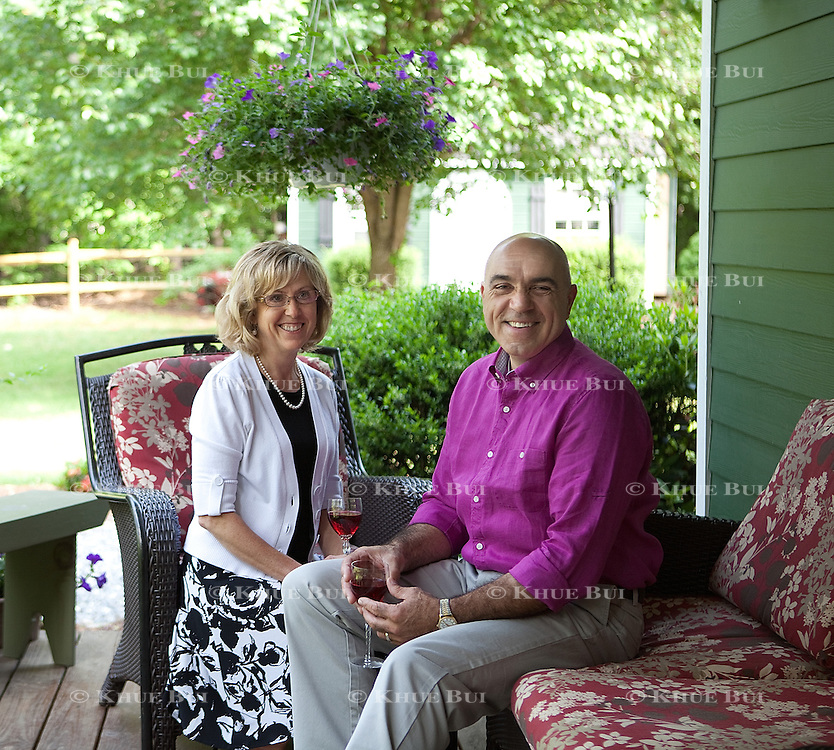Jim and Kim Mason are shown at a friend's home Tuesday, May 28, 2013, in Nellysford, VA...Photo by Khue Bui