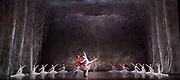 The Nutcracker <br /> choreography by Sir Peter Wright <br /> at the <br /> Birmingham Royal Ballet <br /> Birmingham Hippodrome, Great Britain <br /> 24th November 2017 <br /> <br /> Laura Day as Clara <br /> Mathias Dingman as Prince <br /> <br /> <br /> Photograph by Elliott Franks <br /> Image licensed to Elliott Franks Photography Services