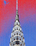 The  Chrylser Building, photo illustration