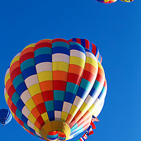 Emphasis on the International in the Albuquerque International Balloon fiesta