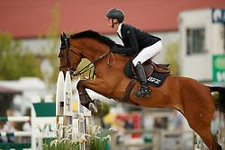 De Winter Jeroen, BEL, Cleopatra Z<br /> Belgisch Kampioenschap Young Riders<br /> Azelhof - Koningshooikt 2018<br /> © Hippo Foto - Dirk Caremans<br /> 11/05/2018
