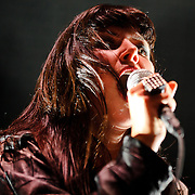 Sleigh Bells perform at the 2010 Virgin Mobile festival at merriweather Post Pavilion.