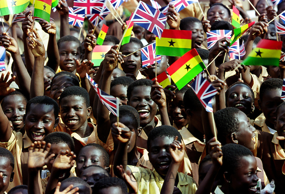 Commonwealth. Young people in Accra, Ghana
