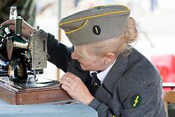 Reenactors take part in the Cleethorpes wartime Weekend<br /> Image © Paul David Drabble<br /> www.pauldaviddrabble.co.uk