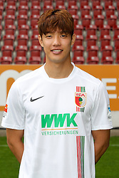 08.07.2015, WWK Arena, Augsburg, GER, 1. FBL, FC Augsburg, Fototermin, im Bild Jeong-Ho Hong #20 (FC Augsburg) // during the official Team and Portrait Photoshoot of German Bundesliga Club FC Augsburg at the WWK Arena in Augsburg, Germany on 2015/07/08. EXPA Pictures © 2015, PhotoCredit: EXPA/ Eibner-Pressefoto/ Kolbert<br /> <br /> *****ATTENTION - OUT of GER*****
